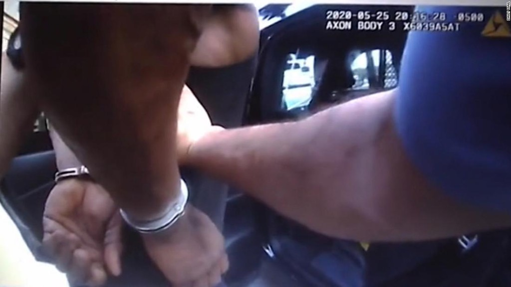 Leaked police bodycam video shows new details of George Floyd's fatal arrest