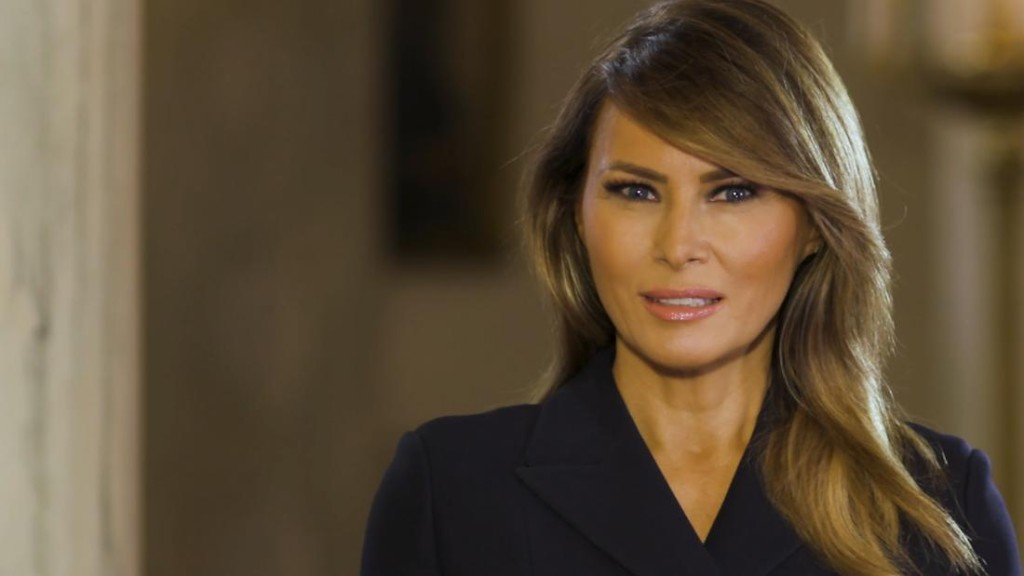 Melania Trump to students: 'Your determination to get through this will define your generation for years to come'