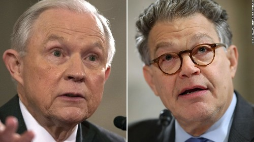 Sessions, Franken get heated at hearing: 'The ambassador from Russia is Russian'