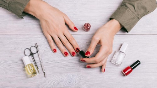 Everything you need to give yourself a salon-worthy manicure at home