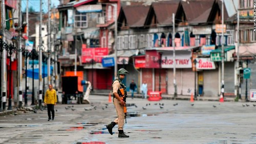 Under the curtain: Kashmir residents contend with pellet guns and restrictions