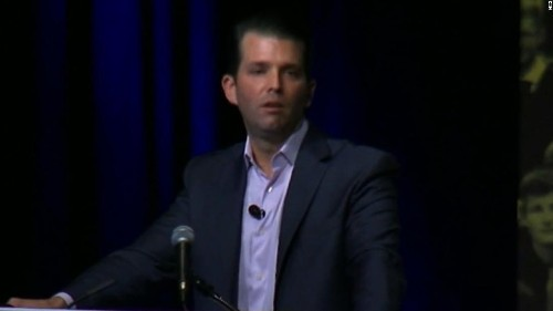 Trump Jr. suggests conspiracy of people who don't want to let 'America be America'