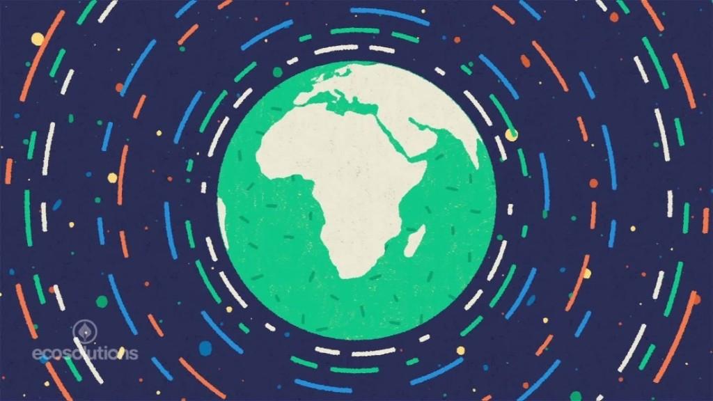 Environment Earth Gaia - Magazine cover