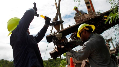 Most of Puerto Rico still without power
