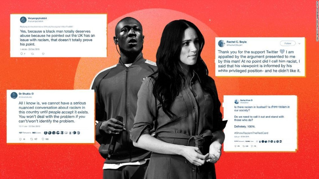 The backlash against Meghan and Stormzy shows that Britain is in denial about racism