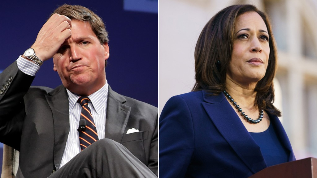 Fox News threw everything but the kitchen sink at Kamala Harris