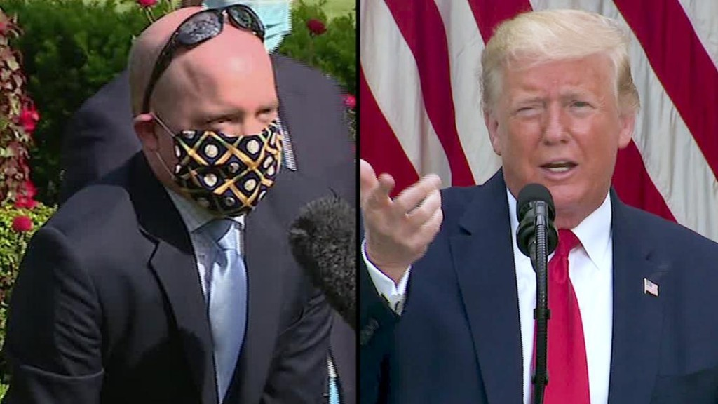 Trump's reluctance to wear a face mask sends a fatal message