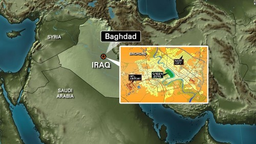 Two rockets land in Baghdad's heavily fortified Green Zone