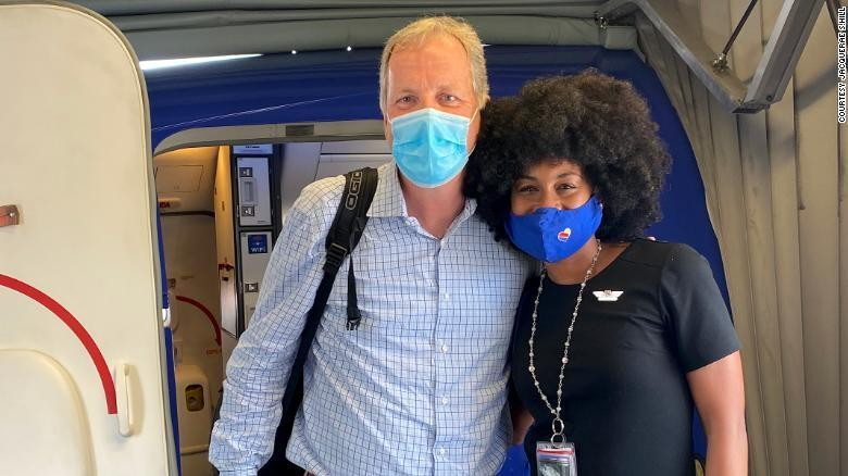 Black Southwest flight attendant's emotional conversation with white airline CEO