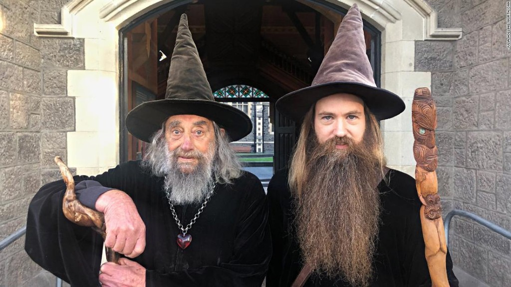 This New Zealand city has an official wizard. He even gets paid