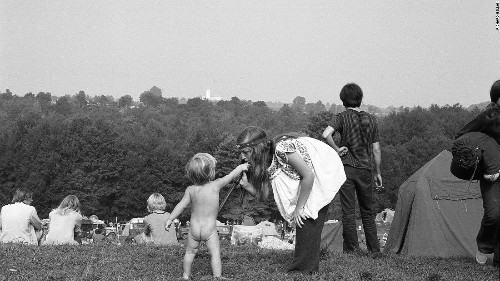 Woodstock at 50: Unseen images of the festival that changed America