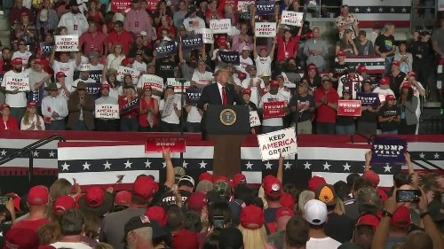 Fact check: Trump makes at least 27 false claims at New Mexico rally