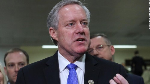 Meadows resigns from Congress to officially start work as Trump's chief of staff