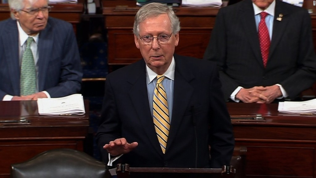 How Mitch McConnell got Republicans past the first hurdle