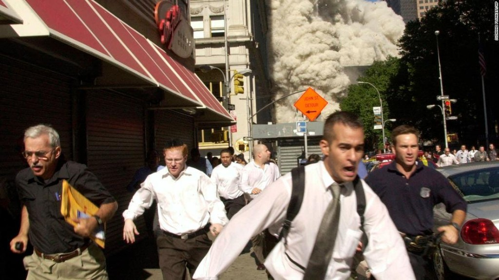Man in famous 9/11 photo dies of Covid-19, family says