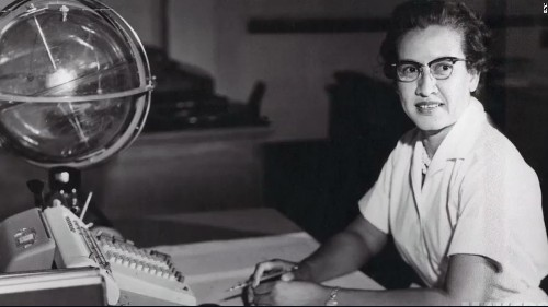 Katherine Johnson, who hand-crunched the numbers for America's first manned space flight, is 100 today