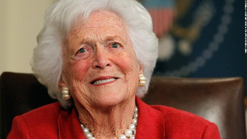 Ex-Secret Service agent: Barbara Bush's code name was absolutely perfect