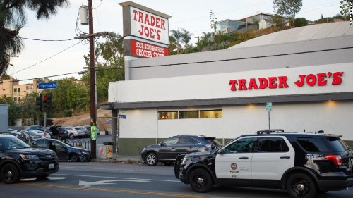 Armed standoff at Los Angeles Trader Joe's ends with one store employee dead, wounded suspect in custody