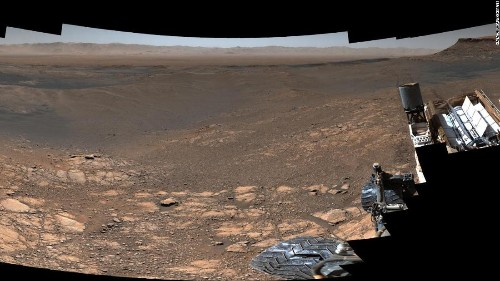 Our eyes on Mars: How Curiosity sees the Red Planet