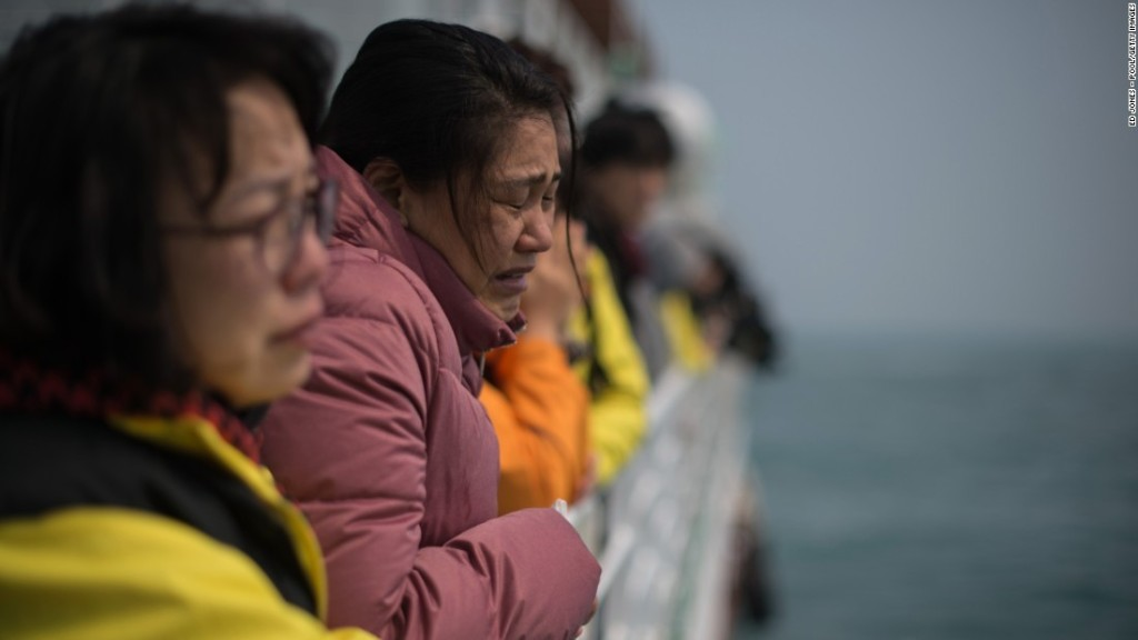 South Korean authorities search ferry owner's offices as probe widens