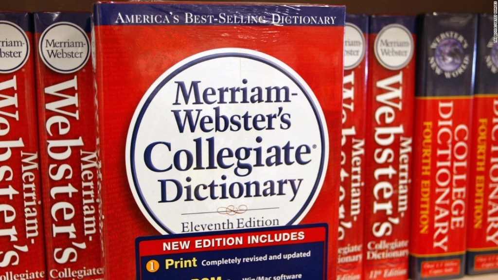 'They' named as Merriam-Webster dictionary's word of the year