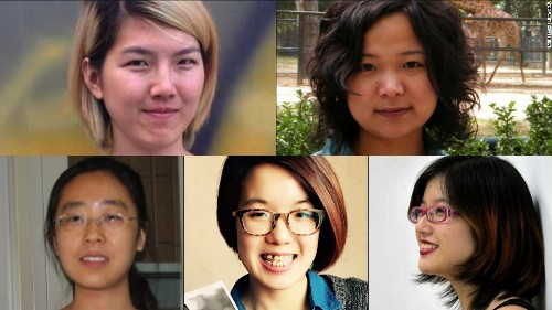 'Support them, not silence them,' Kerry tells China over 5 detained feminists