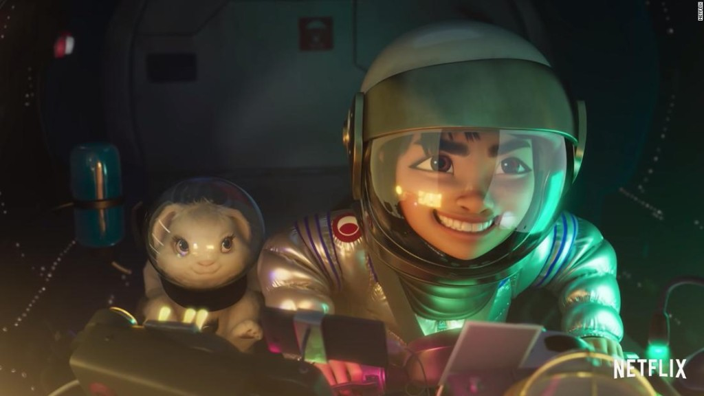 """Opinion: Why """"Over the Moon"""" is the film my son and I desperately needed"""