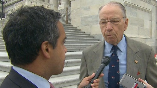 Grassley on Giuliani pardon comments: 'I think I would hire a new lawyer'