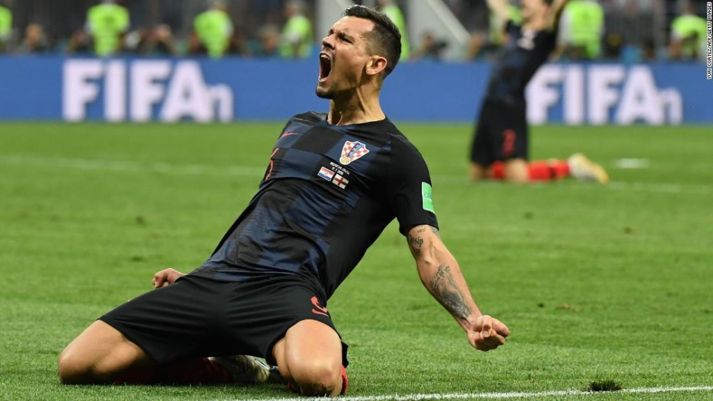 Dejan Lovren: A child refugee ... now he will play in the World Cup final
