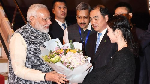China and India agree to maintain border peace, as summit ends