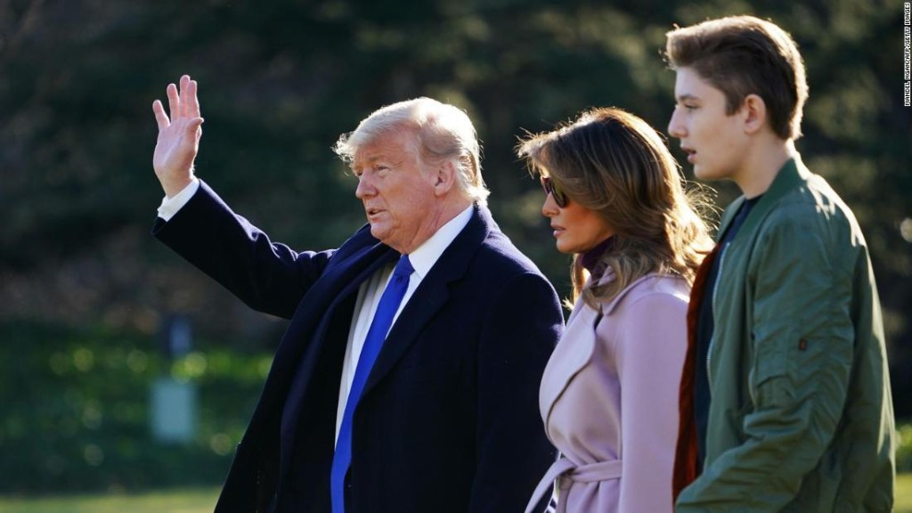 Barron Trump's private school will begin with virtual classes only