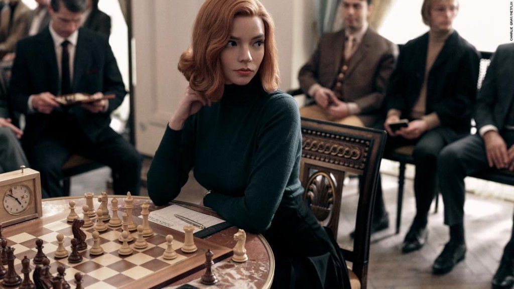 Review: 'The Queen's Gambit' doesn't make all the right moves, but Anya Taylor-Joy does