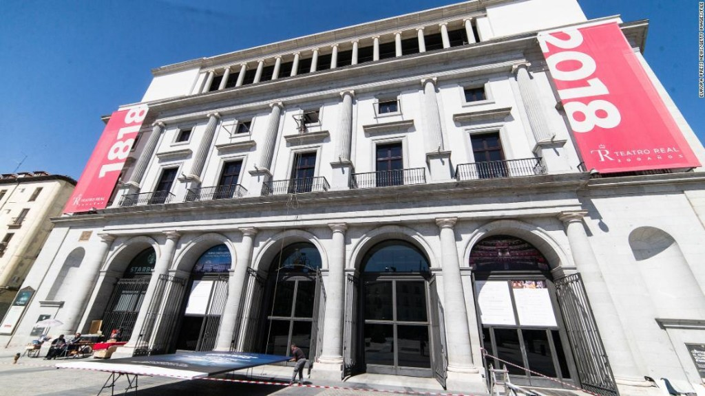 Madrid opera canceled after audience revolts over social distancing concerns