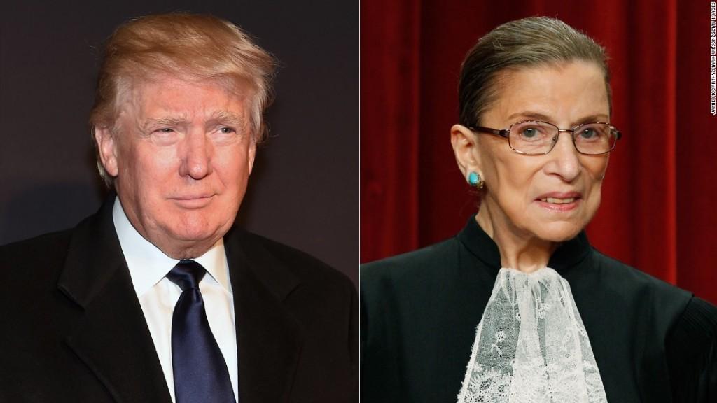 Ginsburg: 'I regret making' Trump remarks