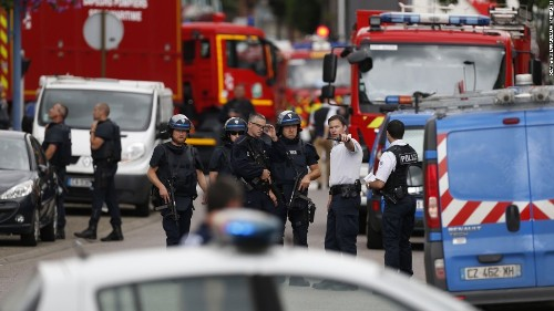 Hollande: Deadly church attack in France carried out in name of ISIS