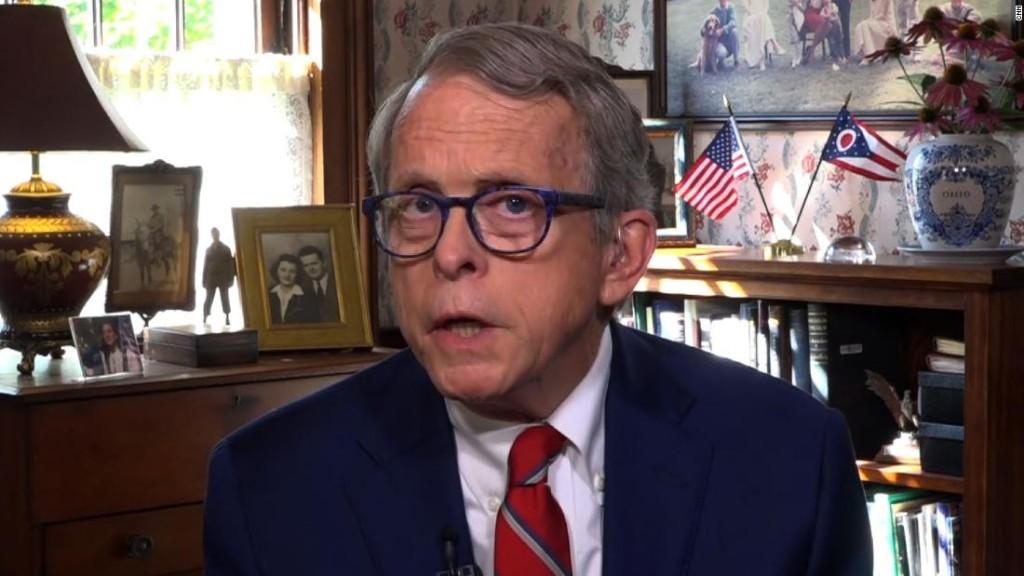 'Wake-up call': Ohio Gov. DeWine on his Covid test confusion - CNN Video