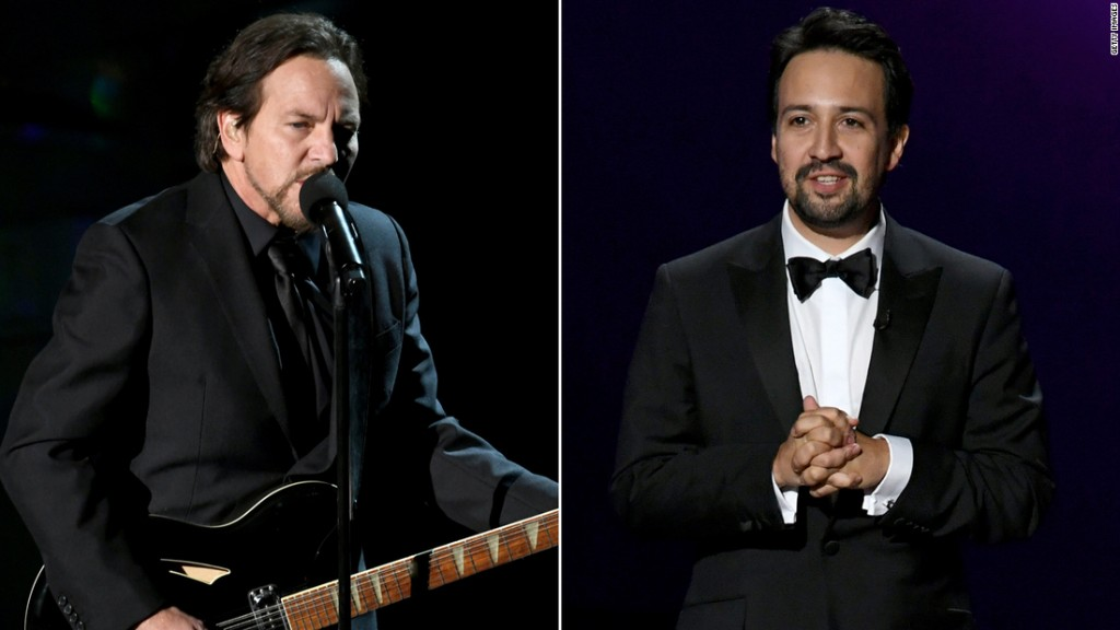 Lin-Manuel Miranda and Pearl Jam unite for Georgia Senate runoffs fundraiser