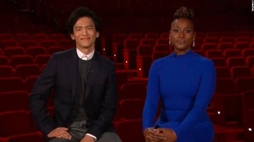 Issa Rae's 'Congratulations to those men' quip sums up Oscars frustration