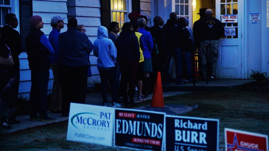 Federal court says it will temporarily block new NC voter ID law