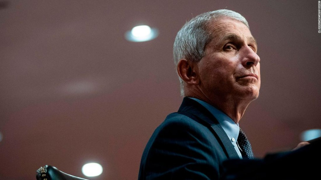 Fauci says partisanship is hurting US response to Covid-19