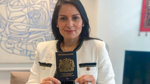 UK unveils 'iconic,' blue post-Brexit passports, made by a French-Dutch company in Poland