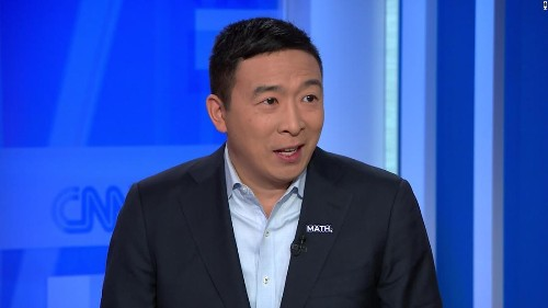 Yang: 'Someone needs to pull an Andrew Yang' and drop out of Democratic primary