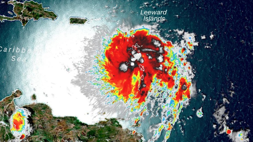Dorian is expected to near hurricane strength as it spins toward Puerto Rico