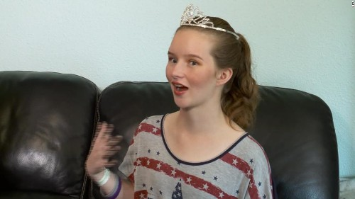 At 14, she was shot in the head and left for dead. At 17, she's her high school's homecoming queen