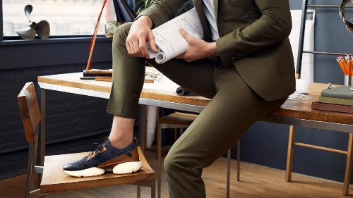 Finally, a sneaker you can wear to the office and to the gym