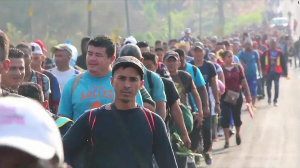 This year, the annual US-bound migrant caravan sparked a Trump tweetstorm