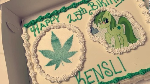 A woman ordered a 'Moana' cake for her daughter -- but the baker heard 'marijuana'