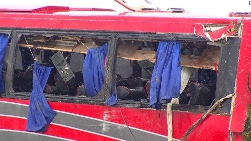 Eight dead, 44 injured in Texas charter bus crash