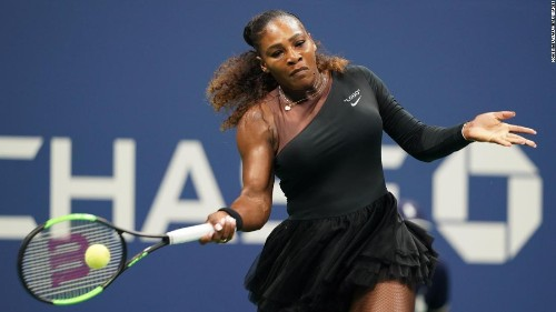 Serena Williams turns heads with striking outfit at US Open