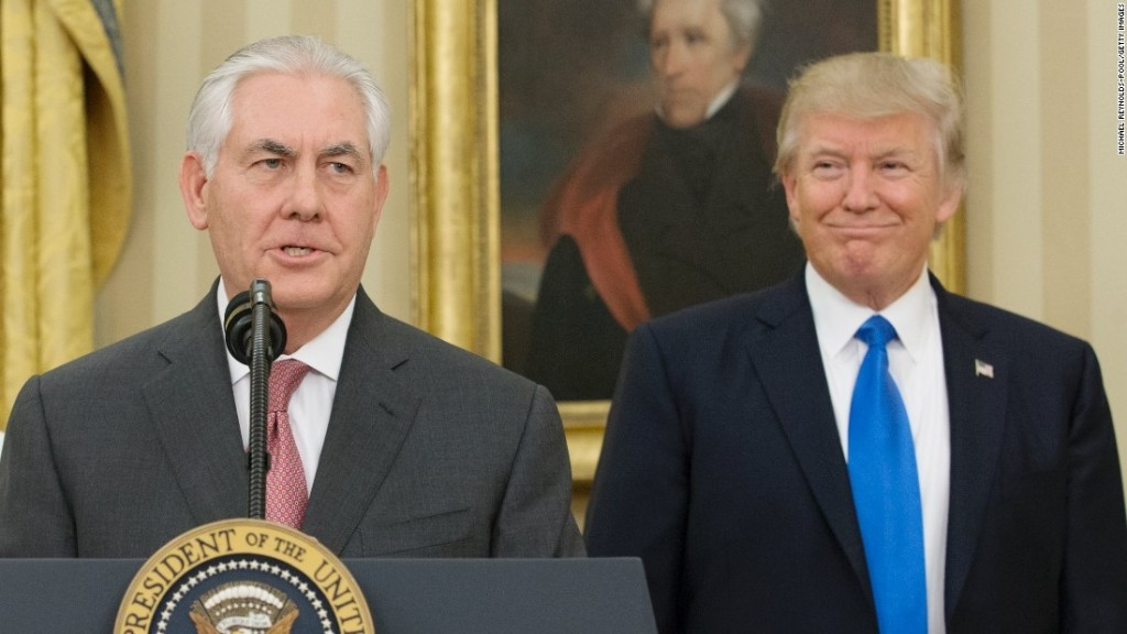 Costs of Tillerson exit may not save his job